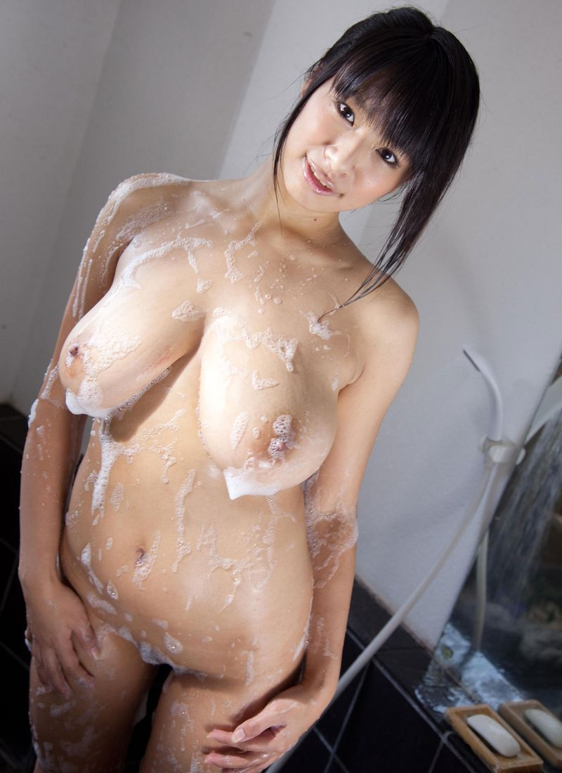 in Naked shower tits girls big asian