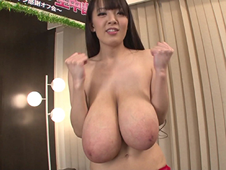 Monster boobs japanese porn star fuko posing in lingerie