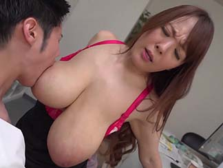 sucking big tits asian