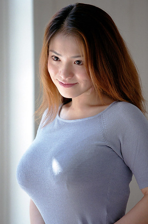 cute asian with big titties naked